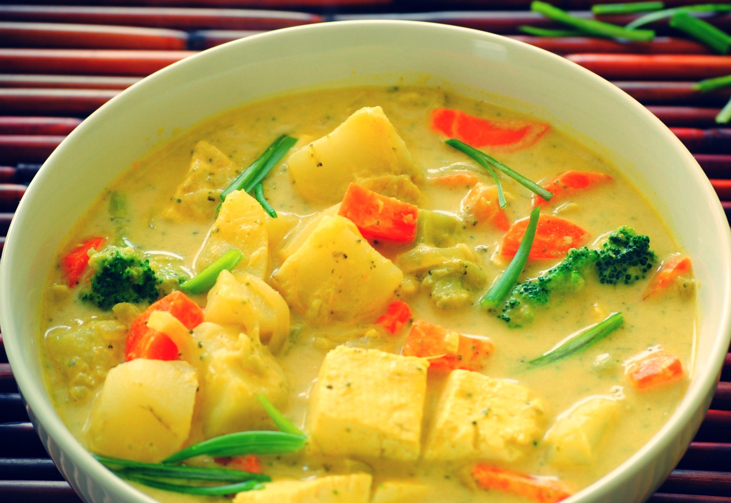 yellow curry chicken recipe coconut milk