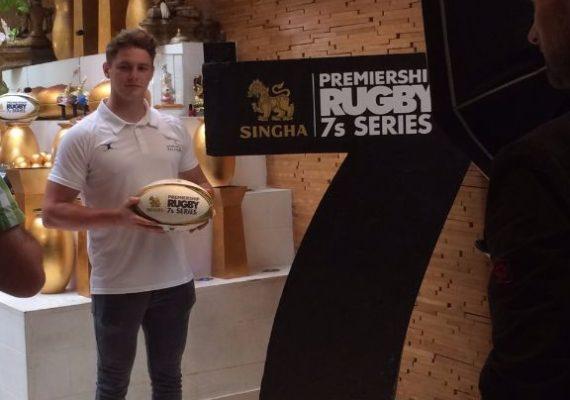 Rugby 7 dinner by Singha beer
