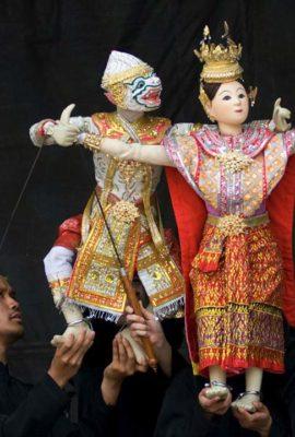 Thai @ Trafalgar -Puppet show