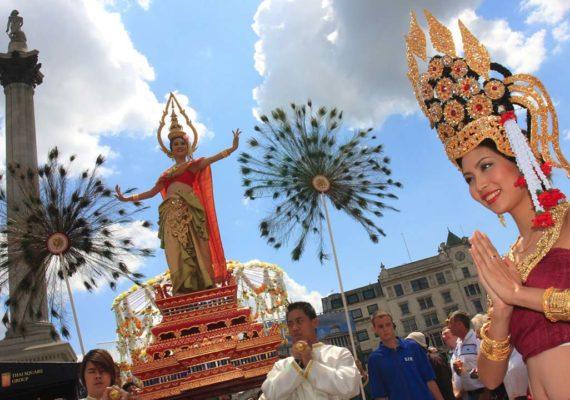 Thai @Trafalgar -Parade