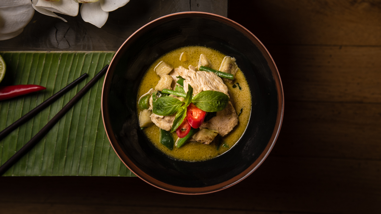 How to create the remarkable thai green curry served in for At home thai cuisine