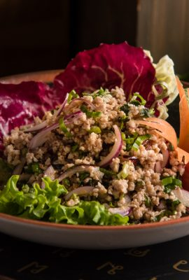 Larb Gai (minced chicken salad)