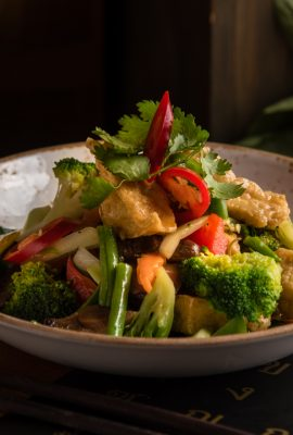 Vegetarian Pad Kra Pow